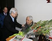 Lãnh đạo Đảng, Nhà nước chúc thọ nguyên Tổng Bí thư Đỗ Mười