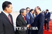 Thủ tướng Nguyễn Xuân Phúc kết thúc thành công chuyến thăm, làm việc tại Lào