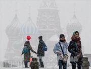 Nga: Thủ đô Moskva hứng chịu đợt tuyết rơi dày nhất một thế kỷ qua