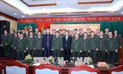 Trưởng ban Tuyên giáo Trung ương chúc Tết cán bộ, chiến sỹ và các văn sỹ, trí thức