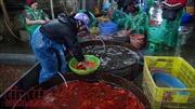 Sôi động thị trường cá chép ông Công ông Táo
