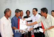 Chủ tịch Ủy ban Trung ương MTTQ Việt Nam thăm, chúc Tết tại Sóc Trăng