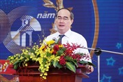 Bí thư Thành uỷ TP Hồ Chí Minh Nguyễn Thiện Nhân: Phát huy cơ chế đặc thù ngay đầu năm 2018