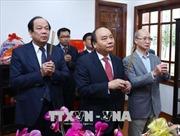 Dâng hương tưởng nhớ Tổng Bí thư Nguyễn Văn Linh và Thủ tướng Phạm Văn Đồng