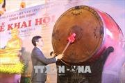 Phó Thủ tướng Vũ Đức Đam dự Lễ khai Hội chùa Bái Đính