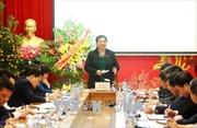 Kiểm tra thực hiện Nghị quyết Trung ương 4 Khóa XII tạiBan cán sự Đảng Ủy ban Dân tộc