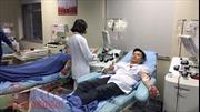 Viện Huyết học- Truyền máu Trung ương đông đúc người hiến máu đầu năm