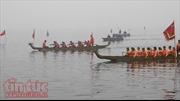 Lễ hội bơi chải thuyền rồng Hà Nội tạo điểm nhấn hoạt động du xuân