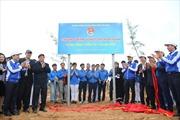 Trung ương Đoàn và Vietnam Airlines chung tay trồng 11.000 cây xanh rừng chắn sóng