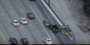 Màn rượt đuổi nghi phạm trên cao tốc như phim hành động của cảnh sát Mỹ