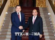 Thủ tướng Nguyễn Xuân Phúc tiếp Phó Chủ tịch Tập đoàn Lotte, Hàn Quốc