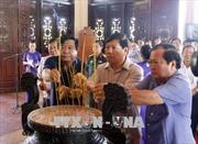 Dâng hương tưởng niệm 30 năm ngày mất Chủ tịch Hội đồng Bộ trưởng Phạm Hùng