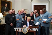 Doanh nghiệp Mỹ đồng loạt chỉ trích chính sách thuế nhôm thép mới