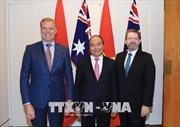 Thủ tướng Nguyễn Xuân Phúc hội kiến lãnh đạo Quốc hội Australia