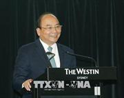 Thủ tướng Nguyễn Xuân Phúc dự Diễn đàn doanh nghiệp Việt Nam - Australia