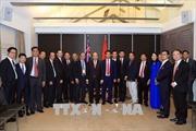 Thủ tướng Nguyễn Xuân Phúc gặp mặt các doanh nhân, trí thức tiêu biểu người Việt tại Australia