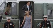 Trực thăng chở vợ chồng con gái Tổng thống Trump hạ cánh khẩn cấp vì hỏng động cơ