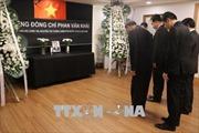 Lời cảm ơn của Ban Lễ tang Nhà nước và gia đình nguyên Thủ tướng Phan Văn Khải
