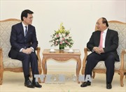 Thủ tướng Nguyễn Xuân Phúc tiếp Cục trưởng Phát triển Thương mại và Kinh tế Hong Kong
