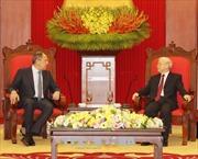 Củng cố, tăng cường quan hệ đối tác chiến lược toàn diện với Liên bang Nga