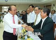 Thủ tướng Nguyễn Xuân Phúc gặp mặt cán bộ lão thành tỉnh Quảng Nam qua các thời kỳ