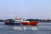 Cứu hộ 3 thuyền viên tàu Phú Mỹ 17 chìm tại vịnh Gành Rái