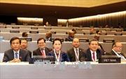 Chủ tịch Quốc hội Nguyễn Thị Kim Ngân dự Phiên họp toàn thể IPU-138