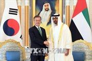 Hàn Quốc và UAE nhất trí nâng quan hệ lên 'đối tác chiến lược đặc biệt'