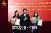 Công bố quyết định về công tác cán bộ tại Bộ Lao động Thương binh và Xã hội