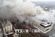 Vụ cháy Trung tâm thương mại tại Nga: Theo dõi vụ việc và có biện pháp bảo hộ công dân Việt Nam