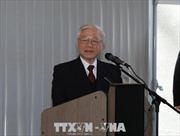 Tổng Bí thư Nguyễn Phú Trọng hội kiến Chủ tịch Quốc hội Pháp Francois De Rugy
