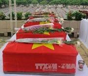Quảng Trị cất bốc 5 hài cốt liệt sỹ tại huyện miền núi Hướng Hóa
