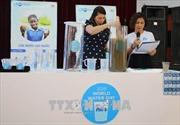Triển khai chương trình 'Nước uống sạch cho trẻ em'