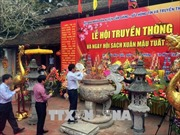 Khai hội truyền thống Văn miếu Mao Điền tại Hải Dương