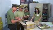 Phát hiện 2.500 đơn vị mỹ phẩm, điện tử đã qua sử dụng nhập lậu tại Nghệ An