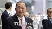 Ngoại trưởng Triều Tiên thăm Nga thảo luận về tình hình bán đảo Triều Tiên