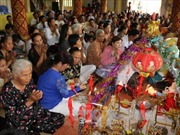 Chủ tịch Mặt trận Tổ quốc chúc mừng đồng bào Khmer đón Tết Chôl Chnăm Thmây