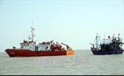 Cứu nạn thành công tàu cá cùng 7 thuyền viên bị nạn trên biển ở Nghệ An