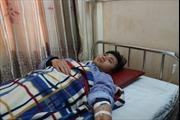 Bác sĩ Bệnh viện đa khoa Hà Tĩnh bị người nhà bệnh nhân hành hung khi đang cấp cứu