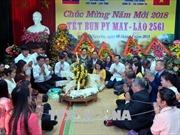 Gặp mặt hữu nghị chúc mừng Tết Bunpimay của Lào