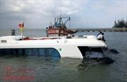 Nguyên nhân tàu cao tốc ở biển Cần Giờ chìm là do gẫy trục chân vịt