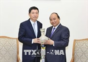 Thủ tướng Nguyễn Xuân Phúc tiếp Đại sứ Hàn Quốc chào từ biệt
