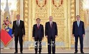 Tổng thống Putin: Quan hệ Nga - Việt Nam đang phát triển tốt đẹp