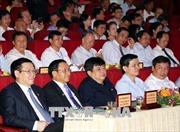Phó Thủ tướng Vương Đình Huệ tham dự tọa đàm khu dân cư, vườn mẫu nông thôn mới