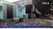 Cháy lớn xưởng tái chế vải tại vùng ven TP HCM