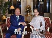 Thắt chặt quan hệ Đối tác hợp tác toàn diện Việt Nam-Myanmar