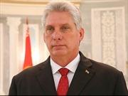 Đồng chí Miguel Diaz-Canel Bermudez được bầu làm Chủ tịch Hội đồng Nhà nước và Hội đồng Bộ trưởng Cuba