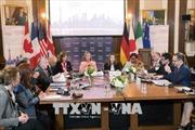 G7 tìm kiếm cách tiếp cận chung trong những vấn đề nóng