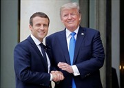 Tổng thống Mỹ, Pháp bất đồng về hồ sơ hạt nhân Iran