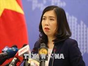 Yêu cầu Trung Quốc chấm dứt ngay hoạt động xâm phạm nghiêm trọng chủ quyền Việt Nam